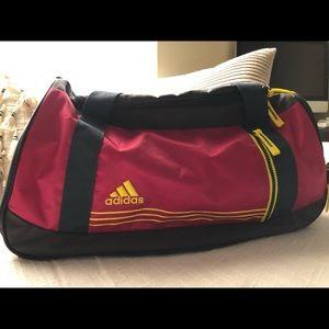 Pink Adidas gym bag. New w/o tags.